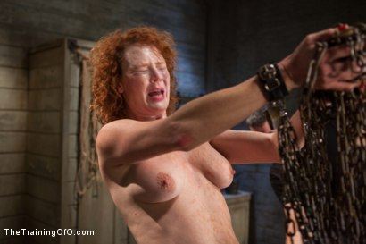 Photo number 4 from The Training of a Party Girl, Day Two shot for The Training Of O on Kink.com. Featuring Audrey Hollander and Rob Blu in hardcore BDSM & Fetish porn.