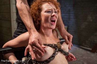 Photo number 10 from The Training of a Party Girl, Day Two shot for The Training Of O on Kink.com. Featuring Audrey Hollander and Rob Blu in hardcore BDSM & Fetish porn.