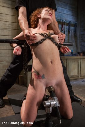 Photo number 9 from The Training of a Party Girl, Day Two shot for The Training Of O on Kink.com. Featuring Audrey Hollander and Rob Blu in hardcore BDSM & Fetish porn.