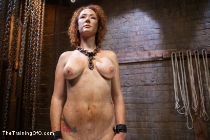 Photo number 1 from Training of a Party Girl, Day Three shot for The Training Of O on Kink.com. Featuring Audrey Hollander and Wolf Jenner in hardcore BDSM & Fetish porn.