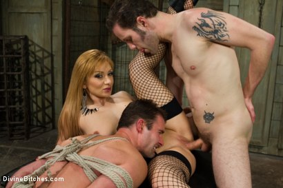 Photo number 9 from Small Penis Humiliation Cuckold shot for Divine Bitches on Kink.com. Featuring Lea Lexis, Wolf Hudson and Cameron Kincade in hardcore BDSM & Fetish porn.