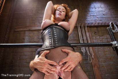 Photo number 1 from Party Girl Gets Her Pussy Destroyed on Her Final Day shot for The Training Of O on Kink.com. Featuring Audrey Hollander and Owen Gray in hardcore BDSM & Fetish porn.