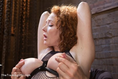 Photo number 2 from Party Girl Gets Her Pussy Destroyed on Her Final Day shot for The Training Of O on Kink.com. Featuring Audrey Hollander and Owen Gray in hardcore BDSM & Fetish porn.