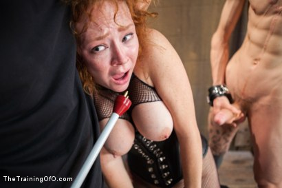 Photo number 13 from Party Girl Gets Her Pussy Destroyed on Her Final Day shot for The Training Of O on Kink.com. Featuring Audrey Hollander and Owen Gray in hardcore BDSM & Fetish porn.