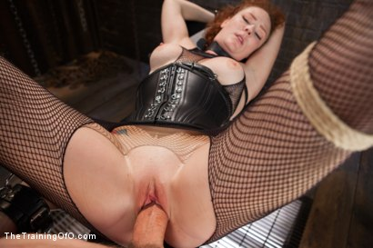 Photo number 14 from Party Girl Gets Her Pussy Destroyed on Her Final Day shot for The Training Of O on Kink.com. Featuring Audrey Hollander and Owen Gray in hardcore BDSM & Fetish porn.
