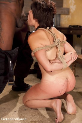 Photo number 11 from The Hard Way shot for Fucked and Bound on Kink.com. Featuring Jack Hammer and Alice Kingsnorth in hardcore BDSM & Fetish porn.