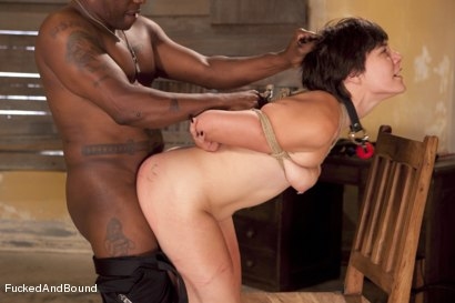 Photo number 12 from The Hard Way shot for Fucked and Bound on Kink.com. Featuring Jack Hammer and Alice Kingsnorth in hardcore BDSM & Fetish porn.