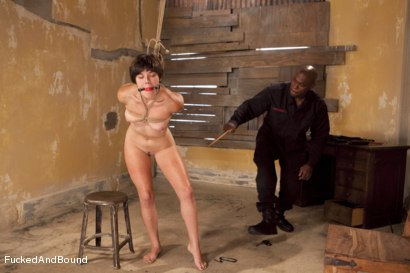 Photo number 3 from The Hard Way shot for  on Kink.com. Featuring Jack Hammer and Alice Kingsnorth in hardcore BDSM & Fetish porn.