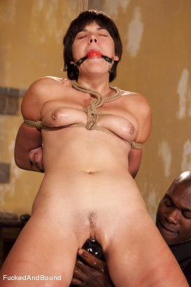 Photo number 4 from The Hard Way shot for  on Kink.com. Featuring Jack Hammer and Alice Kingsnorth in hardcore BDSM & Fetish porn.
