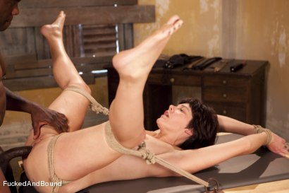 Photo number 10 from The Hard Way shot for  on Kink.com. Featuring Jack Hammer and Alice Kingsnorth in hardcore BDSM & Fetish porn.