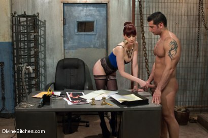 Photo number 14 from Maitresse Madeline searches for a personal slave for her home. shot for Divine Bitches on Kink.com. Featuring Marcus Ruhl and Maitresse Madeline Marlowe in hardcore BDSM & Fetish porn.