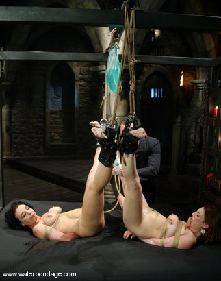 Photo number 5 from Tyler, Lochai and Jenya shot for Water Bondage on Kink.com. Featuring Tyler, Lochai and Jenya in hardcore BDSM & Fetish porn.