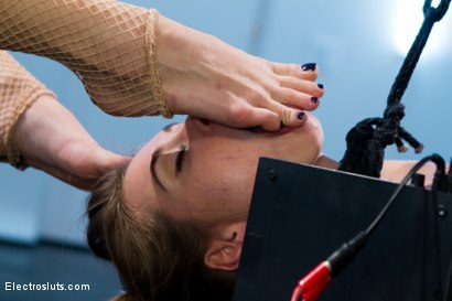 Photo number 3 from Riley Reid's Final Round of Electrosex shot for Electro Sluts on Kink.com. Featuring Riley Reid and Lea Lexis in hardcore BDSM & Fetish porn.