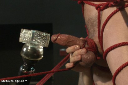 Photo number 13 from Ripped Straight Bartender shot for Men On Edge on Kink.com. Featuring Casey More in hardcore BDSM & Fetish porn.