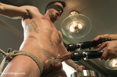 Photo number 7 from Ripped Straight Bartender shot for Men On Edge on Kink.com. Featuring Casey More in hardcore BDSM & Fetish porn.