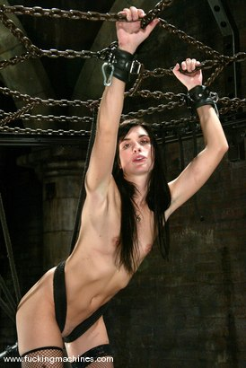 Photo number 10 from Alexis Duval shot for Fucking Machines on Kink.com. Featuring Alexis Duval in hardcore BDSM & Fetish porn.