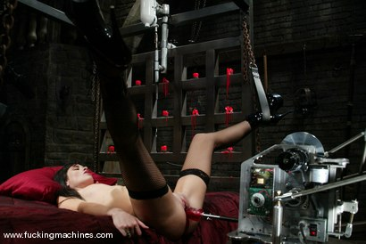 Photo number 5 from Alexis Duval shot for Fucking Machines on Kink.com. Featuring Alexis Duval in hardcore BDSM & Fetish porn.