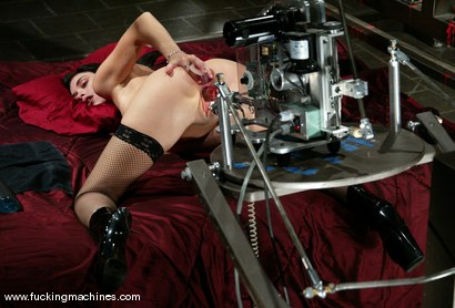 Photo number 4 from Alexis Duval shot for Fucking Machines on Kink.com. Featuring Alexis Duval in hardcore BDSM & Fetish porn.