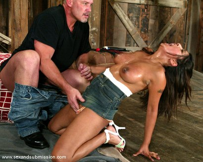 Photo number 6 from Destiny Deville and Mark Davis shot for Sex And Submission on Kink.com. Featuring Mark Davis and Destiny Deville in hardcore BDSM & Fetish porn.
