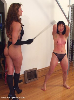 Photo number 14 from Emiko and Kym Wilde shot for Whipped Ass on Kink.com. Featuring Emiko and Kym Wilde in hardcore BDSM & Fetish porn.