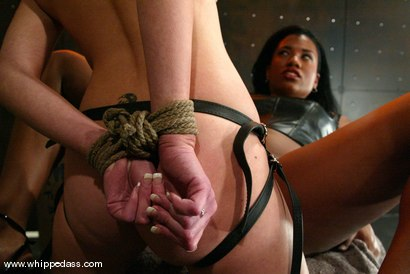 Photo number 8 from Sydnee Capri and Paris Kennedy shot for Whipped Ass on Kink.com. Featuring Paris Kennedy and Sydnee Capri in hardcore BDSM & Fetish porn.
