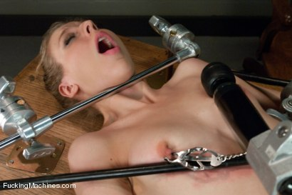 Photo number 3 from Pussy Talks: The One & Only, Chastity Lynn shot for Fucking Machines on Kink.com. Featuring Chastity Lynn in hardcore BDSM & Fetish porn.
