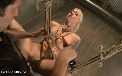 Photo number 8 from Breaking the Blonde Beauty shot for  on Kink.com. Featuring Maestro and Lorelei Lee in hardcore BDSM & Fetish porn.