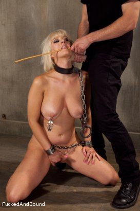Photo number 4 from Cherry Unchained shot for Fucked and Bound on Kink.com. Featuring Cherry Torn and Maestro in hardcore BDSM & Fetish porn.