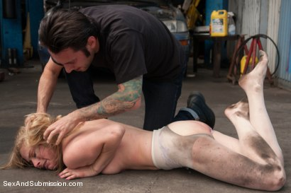 Photo number 5 from Best of SAS: A Helping Whore shot for Sex And Submission on Kink.com. Featuring Penny Pax and Tommy Pistol in hardcore BDSM & Fetish porn.