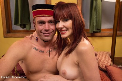 Photo number 14 from BONUS FOOT FETISH FEATURE! From FootWorship.com! shot for Divine Bitches on Kink.com. Featuring John Jammen and Maitresse Madeline Marlowe in hardcore BDSM & Fetish porn.