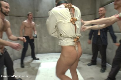 Photo number 2 from Lockup, Cell Extraction & Prison Sex - Part Two shot for Bound in Public on Kink.com. Featuring Jeremy Stevens, Hayden Richards and Connor Maguire in hardcore BDSM & Fetish porn.