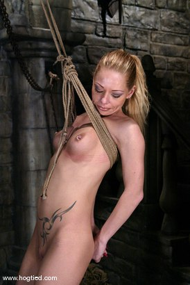 Photo number 2 from Rope Bondage Tutorial - Learn how to tie Suspension!  shot for Hogtied on Kink.com. Featuring Livia Choice and Lew Rubens in hardcore BDSM & Fetish porn.