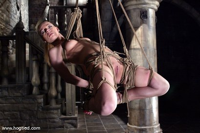 Photo number 11 from Rope Bondage Tutorial - Learn how to tie Suspension!  shot for Hogtied on Kink.com. Featuring Livia Choice and Lew Rubens in hardcore BDSM & Fetish porn.