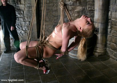 Photo number 13 from Rope Bondage Tutorial - Learn how to tie Suspension!  shot for Hogtied on Kink.com. Featuring Livia Choice and Lew Rubens in hardcore BDSM & Fetish porn.