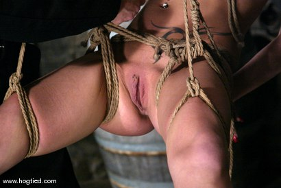Photo number 6 from Rope Bondage Tutorial - Learn how to tie Suspension!  shot for Hogtied on Kink.com. Featuring Livia Choice and Lew Rubens in hardcore BDSM & Fetish porn.