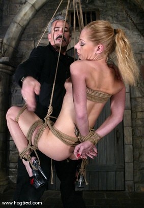 Photo number 10 from Rope Bondage Tutorial - Learn how to tie Suspension!  shot for Hogtied on Kink.com. Featuring Livia Choice and Lew Rubens in hardcore BDSM & Fetish porn.