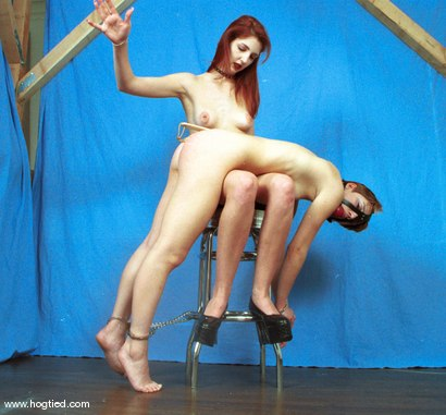 Photo number 1 from Ivy and Sadie shot for Hogtied on Kink.com. Featuring Ivy and Sadie in hardcore BDSM & Fetish porn.
