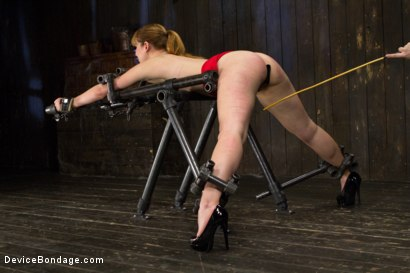 Photo number 3 from Conflicted - Claire Robbins shot for Device Bondage on Kink.com. Featuring Claire Robbins, Mz Berlin and Orlando in hardcore BDSM & Fetish porn.