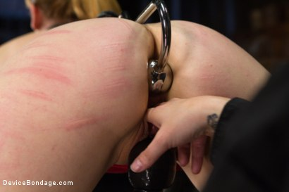 Photo number 5 from Conflicted - Claire Robbins shot for Device Bondage on Kink.com. Featuring Claire Robbins, Mz Berlin and Orlando in hardcore BDSM & Fetish porn.