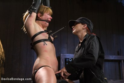 Photo number 10 from Conflicted - Claire Robbins shot for Device Bondage on Kink.com. Featuring Claire Robbins, Mz Berlin and Orlando in hardcore BDSM & Fetish porn.