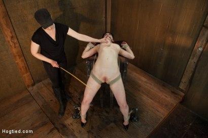 Photo number 13 from Jade Aspen & Nerine Get Introduced to HogTied shot for hogtied on Kink.com. Featuring Jade Aspen in hardcore BDSM & Fetish porn.