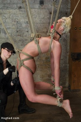 Photo number 13 from Tara Lynn Foxx is INSATIABLE shot for Hogtied on Kink.com. Featuring Tara Lynn Foxx in hardcore BDSM & Fetish porn.