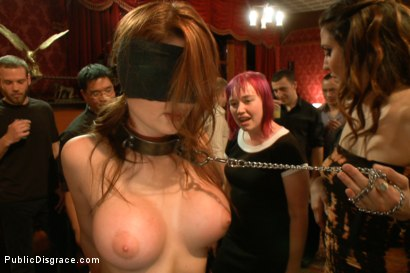 Photo number 4 from Beautiful Amateur Kenzie Vaughn Bound, Blindfolded, Ass Fucked, Dp'ed shot for Public Disgrace on Kink.com. Featuring Xander Corvus and Kenzie Vaughn in hardcore BDSM & Fetish porn.