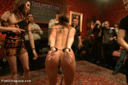 Photo number 5 from Beautiful Amateur Kenzie Vaughn Bound, Blindfolded, Ass Fucked, Dp'ed shot for Public Disgrace on Kink.com. Featuring Xander Corvus and Kenzie Vaughn in hardcore BDSM & Fetish porn.