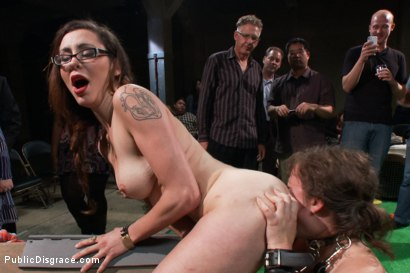 Photo number 5 from Puppy love! Chubby pet turned obedient bitch. shot for Public Disgrace on Kink.com. Featuring Alexxa Bound and Astral Dust in hardcore BDSM & Fetish porn.