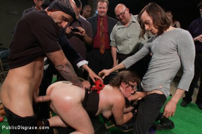 Photo number 12 from Puppy love! Chubby pet turned obedient bitch. shot for Public Disgrace on Kink.com. Featuring Alexxa Bound and Astral Dust in hardcore BDSM & Fetish porn.