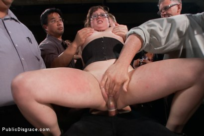 Photo number 10 from Puppy love! Chubby pet turned obedient bitch. shot for Public Disgrace on Kink.com. Featuring Alexxa Bound and Astral Dust in hardcore BDSM & Fetish porn.