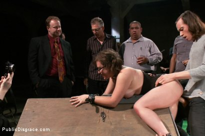 Photo number 4 from Puppy love! Chubby pet turned obedient bitch. shot for Public Disgrace on Kink.com. Featuring Alexxa Bound and Astral Dust in hardcore BDSM & Fetish porn.