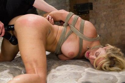 Photo number 15 from Cherie Deville - Hawt Blonde Gets Pounded shot for Hogtied on Kink.com. Featuring Cherie DeVille in hardcore BDSM & Fetish porn.