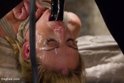 Photo number 12 from Cherie Deville - Hawt Blonde Gets Pounded shot for Hogtied on Kink.com. Featuring Cherie DeVille in hardcore BDSM & Fetish porn.